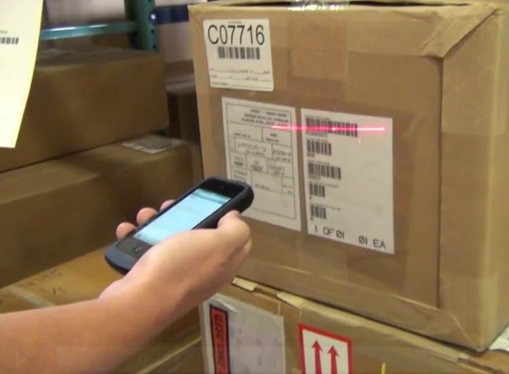 Mobile Scanning for Warehouse Management Software
