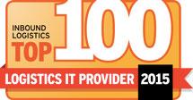 2015 Inbound Logistics Top 100 Logistics IT Providers