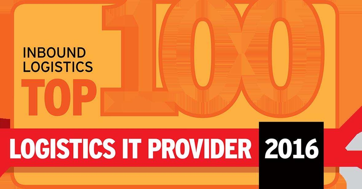 2016 Top 100 Logistics IT Provider - Inbound Logistics